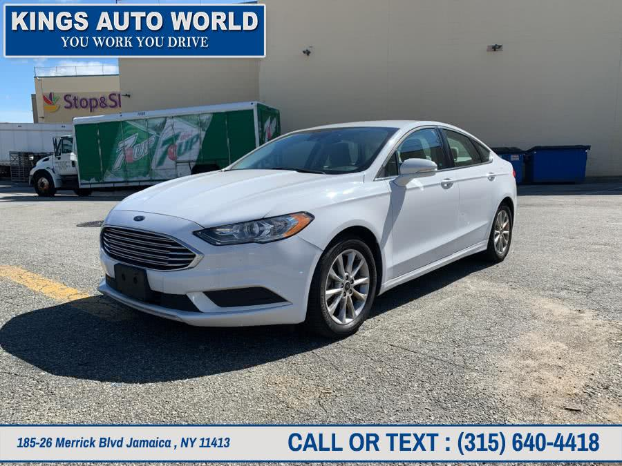 Used Ford Fusion SE FWD 2017 | Kings Auto World. Jamaica , New York