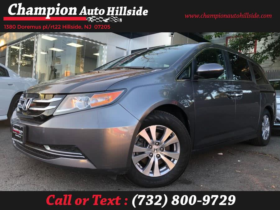 Used 2016 Honda Odyssey in Hillside, New Jersey | Champion Auto Hillside. Hillside, New Jersey