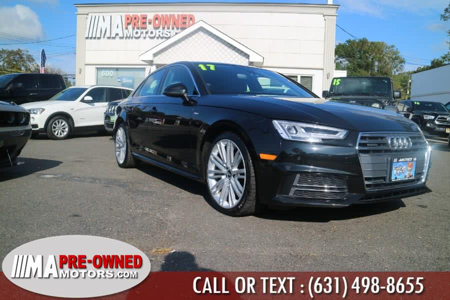 Used 2017 Audi A4 in Huntington, New York | M & A Motors. Huntington, New York