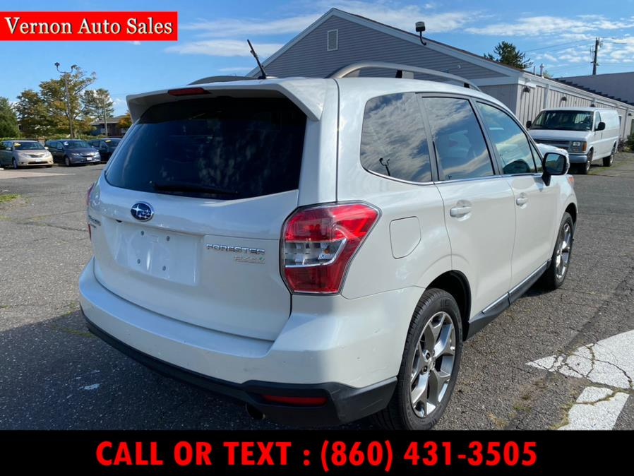 Used Subaru Forester 4dr CVT 2.5i Touring PZEV 2015 | Vernon Auto Sale & Service. Manchester, Connecticut