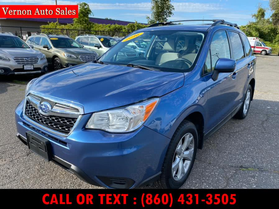 Used 2016 Subaru Forester in Manchester, Connecticut | Vernon Auto Sale & Service. Manchester, Connecticut