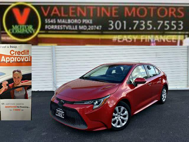 Used 2020 Toyota Corolla in Forestville, Maryland | Valentine Motor Company. Forestville, Maryland