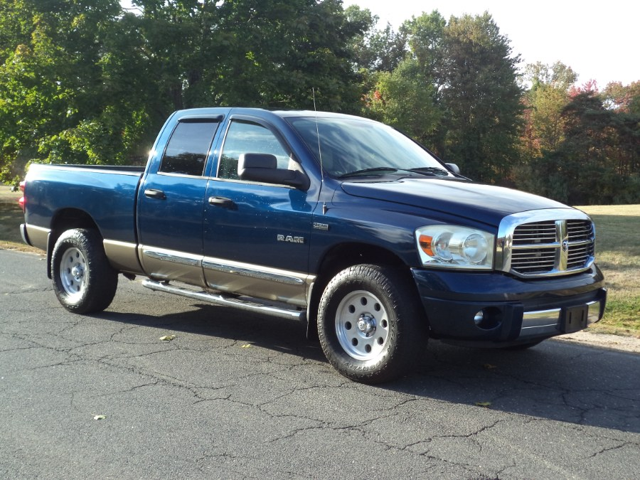 "Used Dodge Ram 1500 4WD Quad Cab 140.5"" LARAMIE 2008 