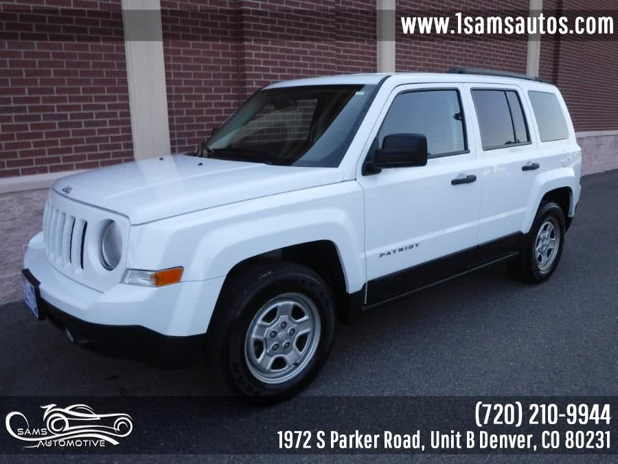 Used Jeep Patriot FWD 4dr Sport 2016 | Sam's Automotive. Denver, Colorado