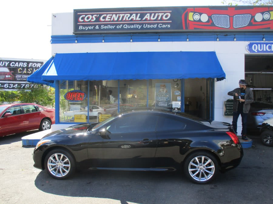Used 2011 Infiniti G37x Coupe in Meriden, Connecticut | Cos Central Auto. Meriden, Connecticut