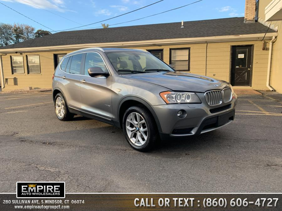Used BMW X3 AWD 4dr xDrive35i 2014 | Empire Auto Wholesalers. S.Windsor, Connecticut