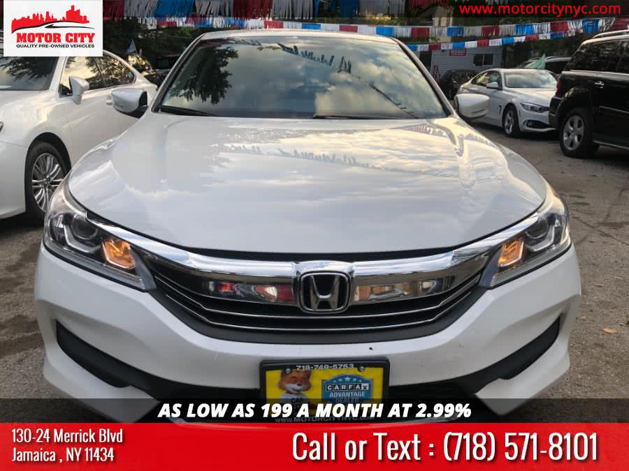 Used Honda Accord Sedan 4dr I4 CVT LX 2016 | Motor City. Jamaica, New York