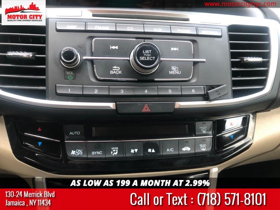 Used Honda Accord Sedan 4dr I4 CVT LX 2016 | Motor City. Jamaica, New York