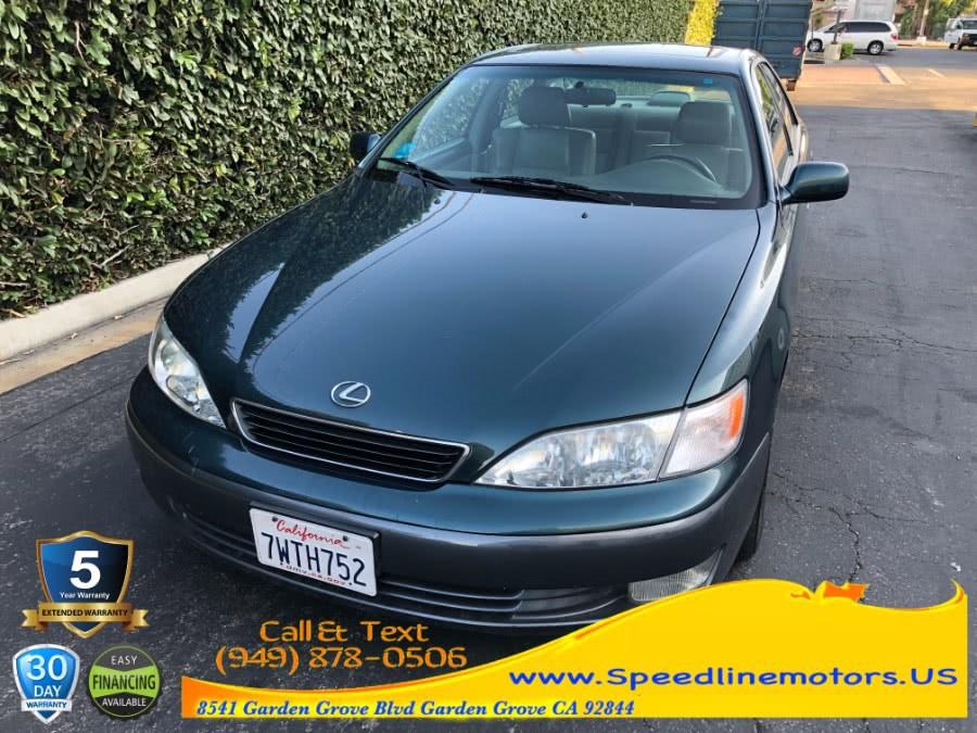 Used 1998 Lexus ES 300 Luxury Sport Sdn in Garden Grove, California | Speedline Motors. Garden Grove, California