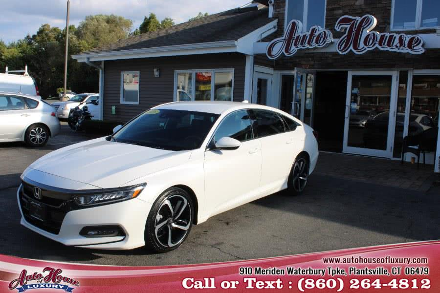 Used 2018 Honda Accord Sedan in Plantsville, Connecticut | Auto House of Luxury. Plantsville, Connecticut