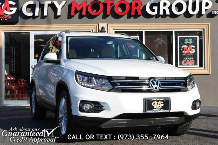Used 2016 Volkswagen Tiguan in Haskell, New Jersey | City Motor Group Inc.. Haskell, New Jersey
