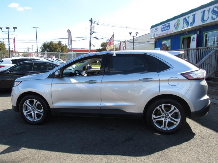 Used Ford Edge Titanium FWD 2018   NJ Used Cars Center. Irvington, New Jersey