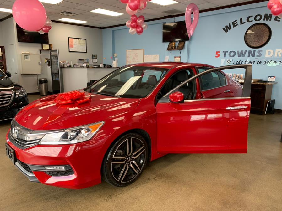 Used Honda Accord Sedan Sport SE CVT 2017 | 5 Towns Drive. Inwood, New York