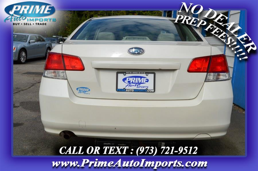 Used Subaru Legacy 4dr Sdn H4 Man 2.5i 2014 | Prime Auto Imports. Bloomingdale, New Jersey