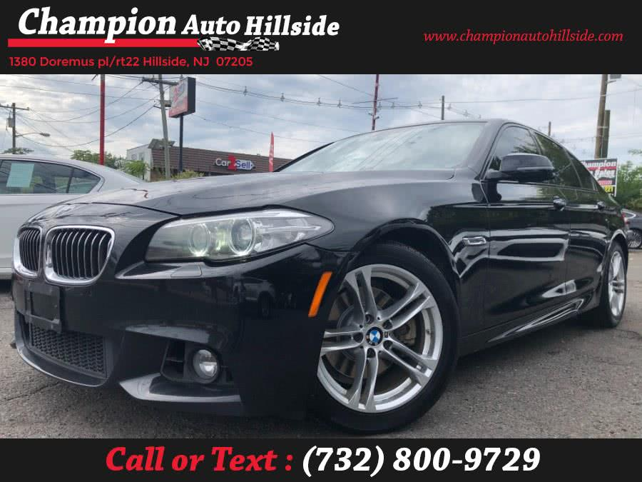 Used 2016 BMW 5 Series in Hillside, New Jersey | Champion Auto Hillside. Hillside, New Jersey
