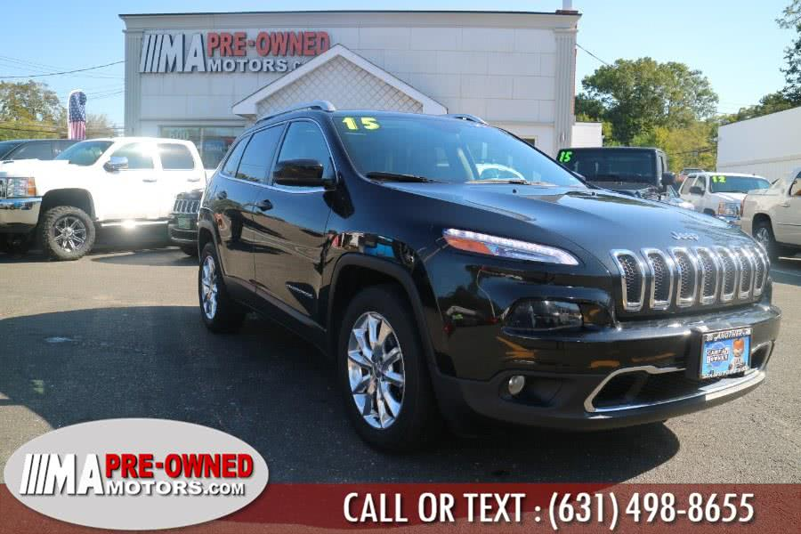 Used 2015 Jeep Cherokee in Huntington, New York | M & A Motors. Huntington, New York