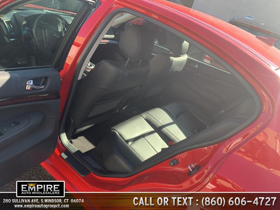 Used INFINITI G37 Sedan 4dr x AWD 2011 | Empire Auto Wholesalers. S.Windsor, Connecticut