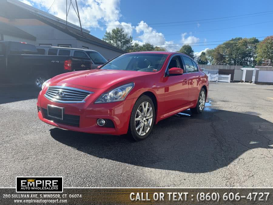 Used 2011 INFINITI G37 Sedan in S.Windsor, Connecticut | Empire Auto Wholesalers. S.Windsor, Connecticut