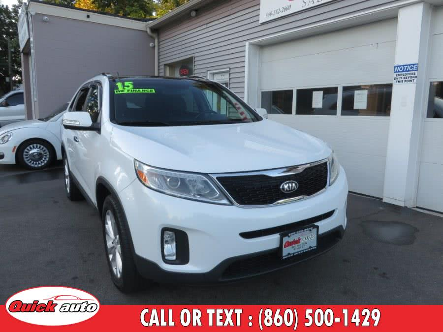 Used 2015 Kia Sorento in Bristol, Connecticut | Quick Auto LLC. Bristol, Connecticut