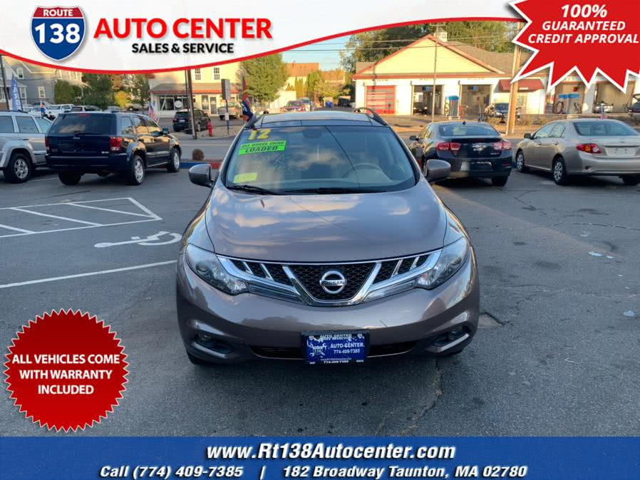 Used 2012 Nissan Murano in Taunton, Massachusetts | Rt 138 Auto Center Inc . Taunton, Massachusetts