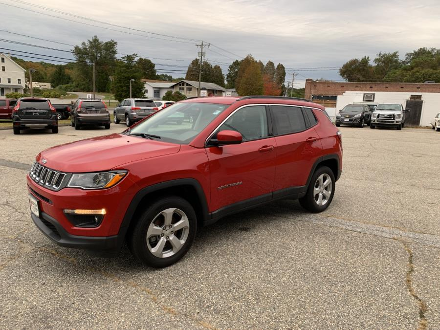 Used Jeep Compass Latitude 4x4 2018 | Saybrook Auto Barn. Old Saybrook, Connecticut