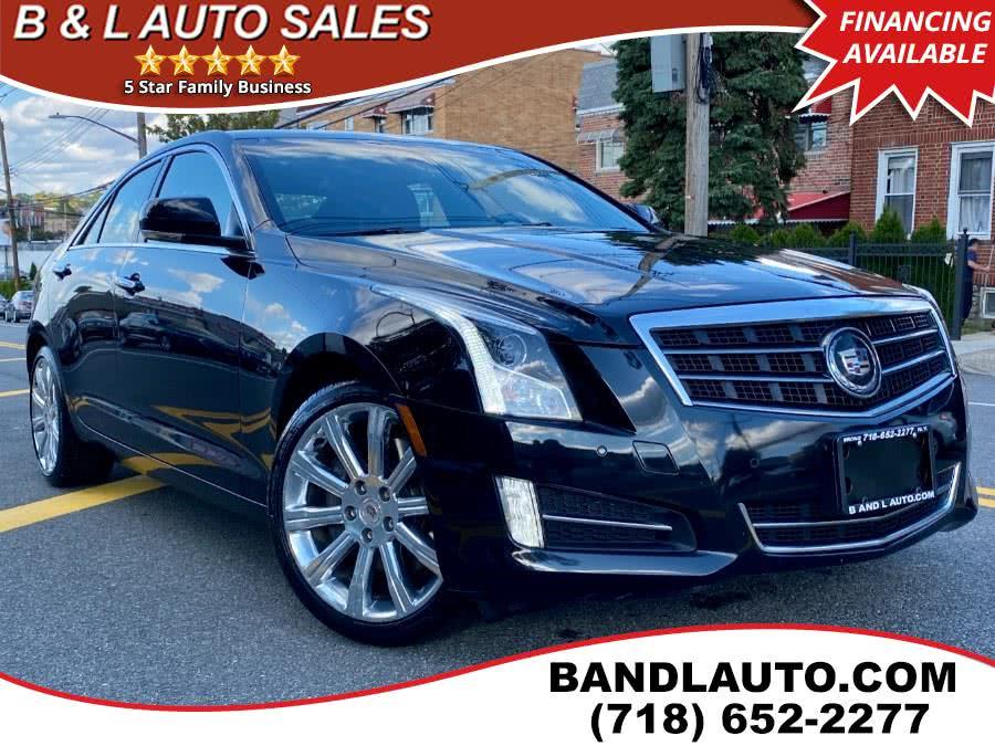Used Cadillac ATS 4dr Sdn 2.0L Premium AWD 2013 | B & L Auto Sales LLC. Bronx, New York
