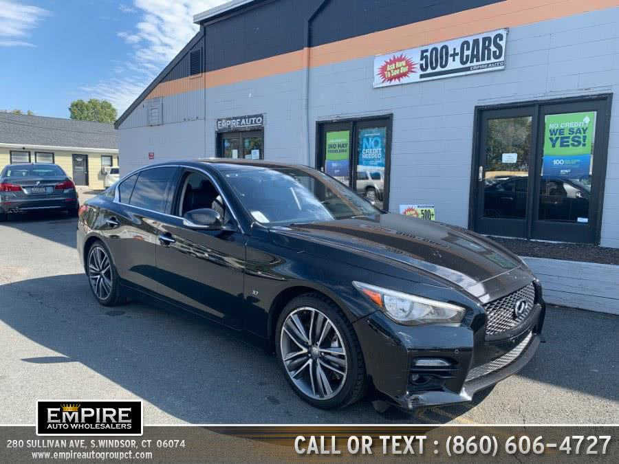 Used Infiniti Q50 4dr Sdn Sport AWD 2014 | Empire Auto Wholesalers. S.Windsor, Connecticut
