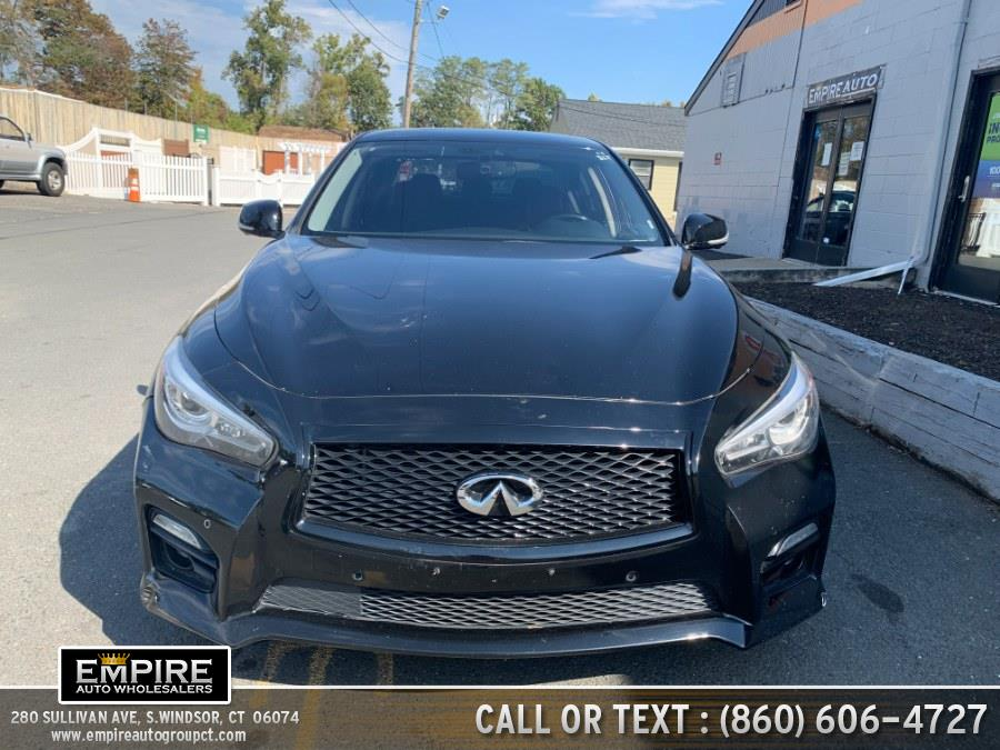 Used Infiniti Q50 4dr Sdn Sport AWD 2014   Empire Auto Wholesalers. S.Windsor, Connecticut