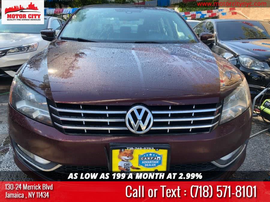 Used 2014 Volkswagen Passat in Jamaica, New York | Motor City. Jamaica, New York
