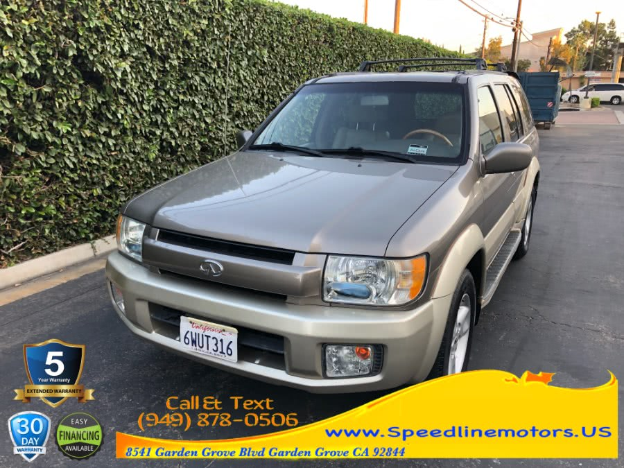 Used Infiniti QX4 4dr SUV Luxury 4WD 2001 | Speedline Motors. Garden Grove, California