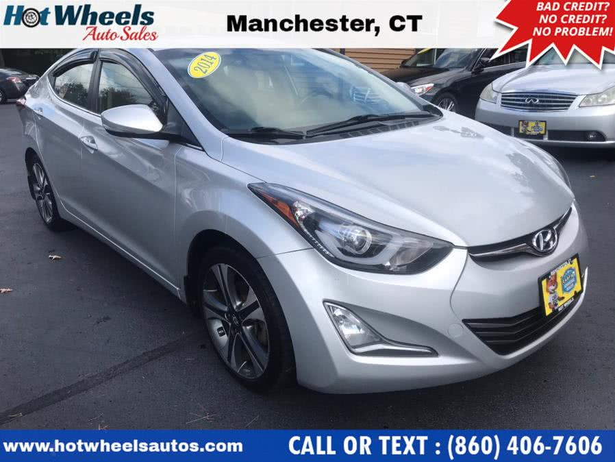 Used 2014 Hyundai Elantra in Manchester, Connecticut | Hot Wheels Auto Sales LLC. Manchester, Connecticut