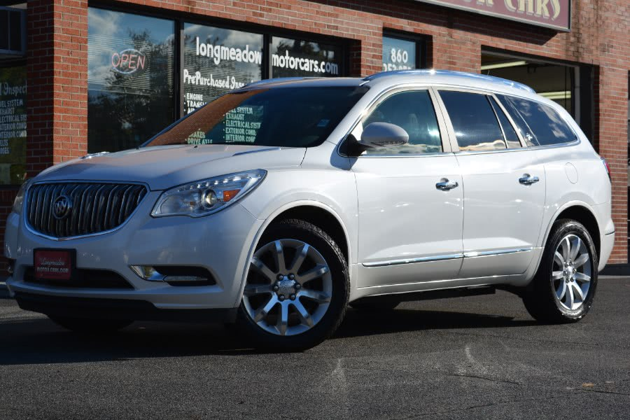 Used 2016 Buick Enclave in ENFIELD, Connecticut | Longmeadow Motor Cars. ENFIELD, Connecticut