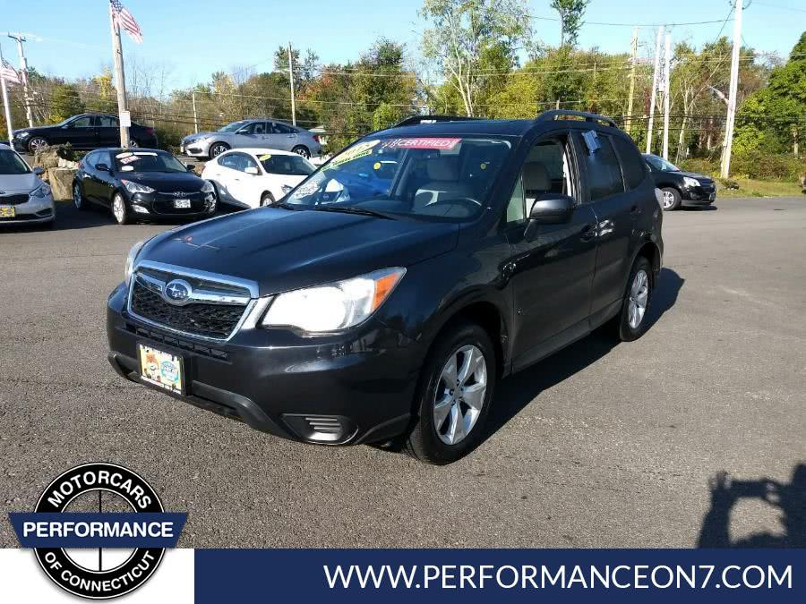 Used 2015 Subaru Forester in Wilton, Connecticut | Performance Motor Cars. Wilton, Connecticut