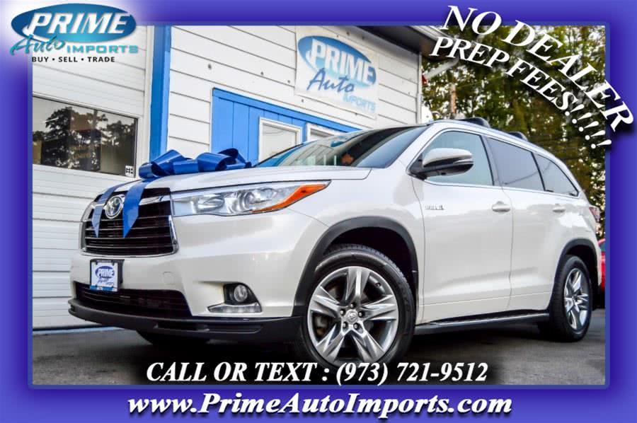 Used 2015 Toyota Highlander Hybrid in Bloomingdale, New Jersey | Prime Auto Imports. Bloomingdale, New Jersey