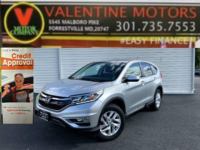 Used 2016 Honda Cr-v in Forestville, Maryland | Valentine Motor Company. Forestville, Maryland