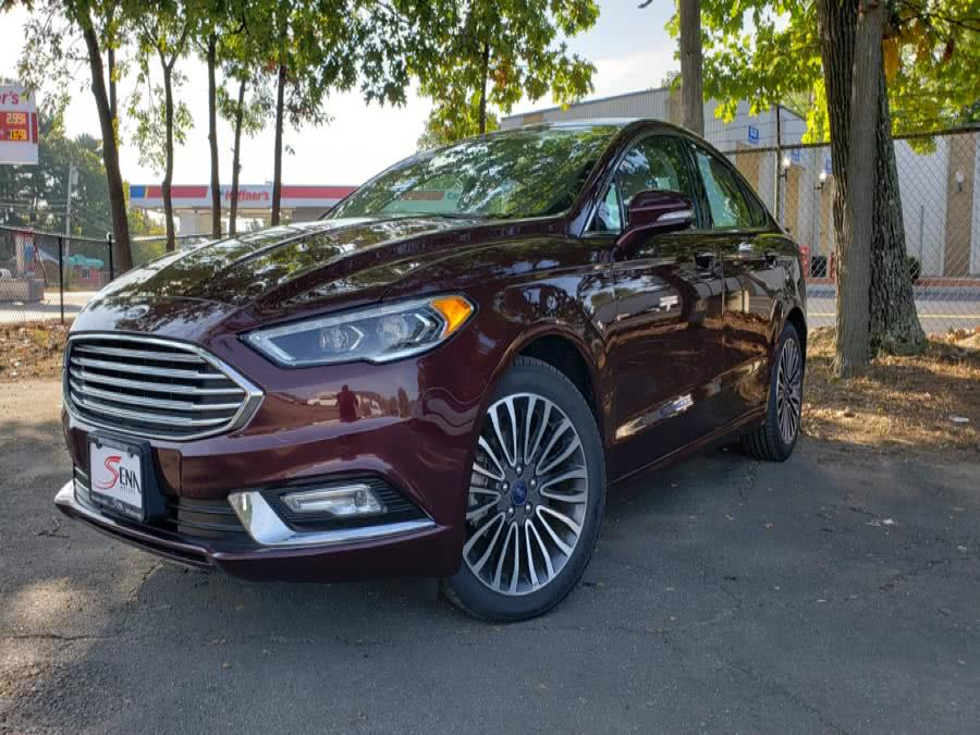 Used Ford Fusion SE AWD 2017   Sena Motors Inc. Revere, Massachusetts