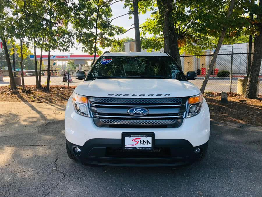 Used Ford Explorer 4WD 4dr XLT 2015   Sena Motors Inc. Revere, Massachusetts