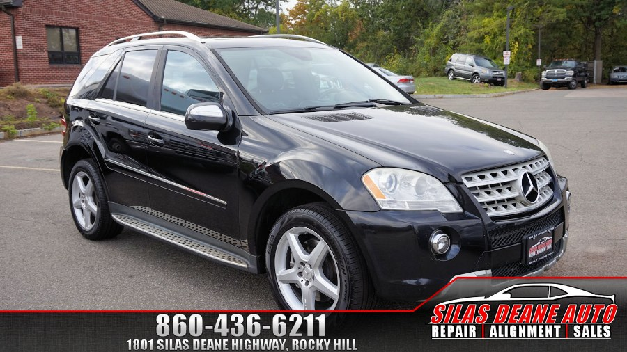 Used Mercedes-Benz M-Class 4MATIC 4dr 5.5L 2009 | Silas Deane Auto LLC. Rocky Hill , Connecticut