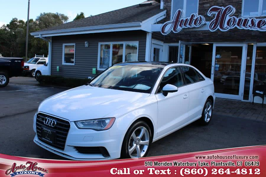 Used Audi A3 4dr Sdn quattro 2.0T Premium 2015 | Auto House of Luxury. Plantsville, Connecticut