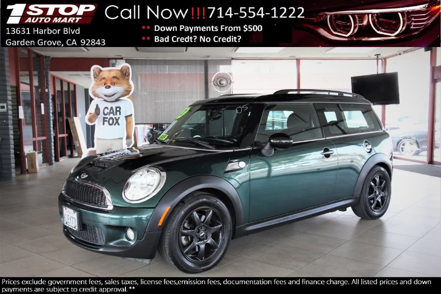 Used 2010 MINI Cooper Clubman in Garden Grove, California | 1 Stop Auto Mart Inc.. Garden Grove, California
