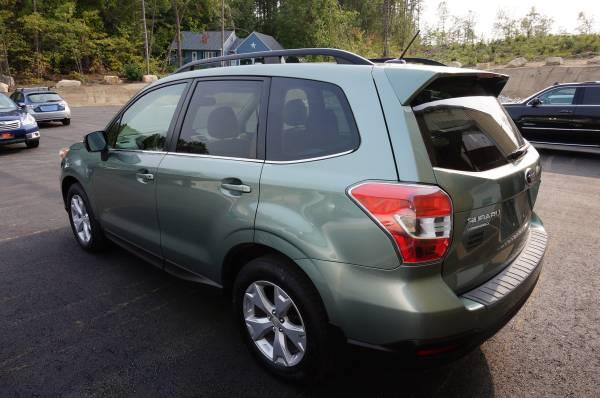Used Subaru Forester 4dr CVT 2.5i Limited PZEV 2015   Extreme Machines. Bow , New Hampshire