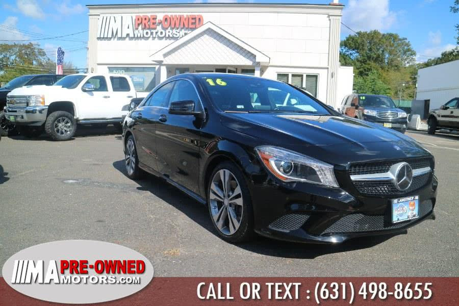 Used 2016 Mercedes-Benz CLA  sedn in Huntington, New York | M & A Motors. Huntington, New York