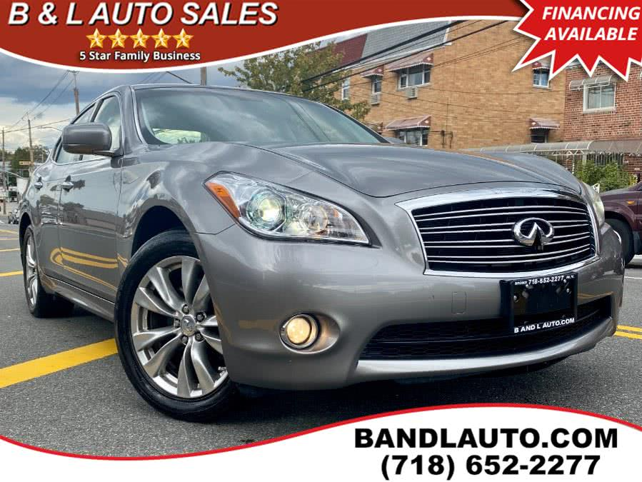 Used INFINITI M37 4dr Sedan AWD 2012 | B & L Auto Sales LLC. Bronx, New York