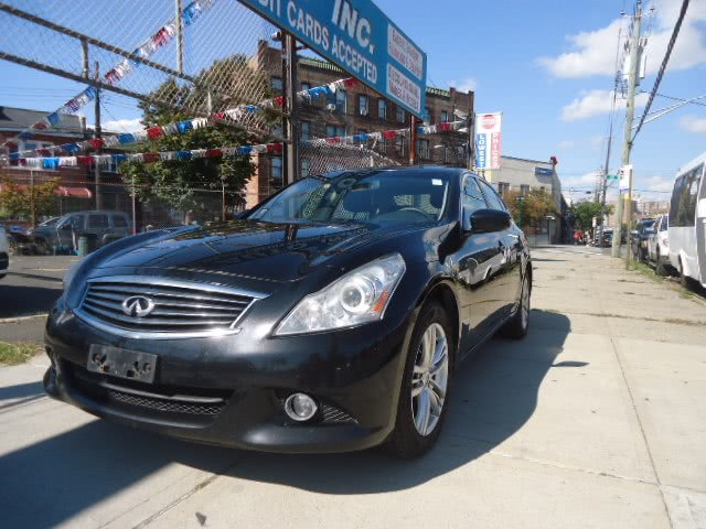 Used 2013 Infiniti G37 Sedan in Brooklyn, New York | Top Line Auto Inc.. Brooklyn, New York