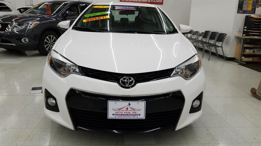 2015 Toyota Corolla 4dr Sdn CVT S Plus (Natl), available for sale in West Haven, CT