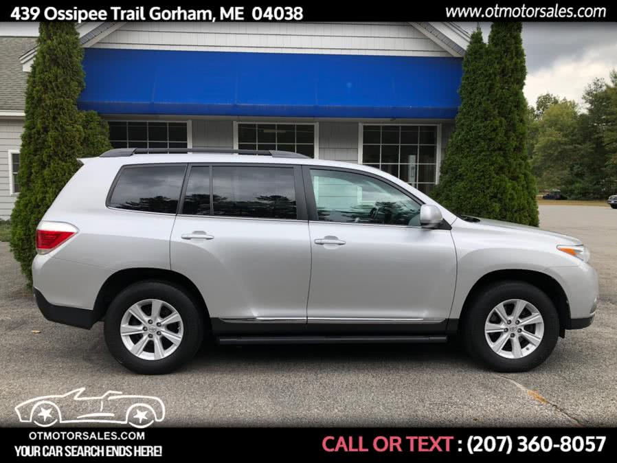 Used 2013 Toyota Highlander in Gorham, Maine | Ossipee Trail Motor Sales. Gorham, Maine