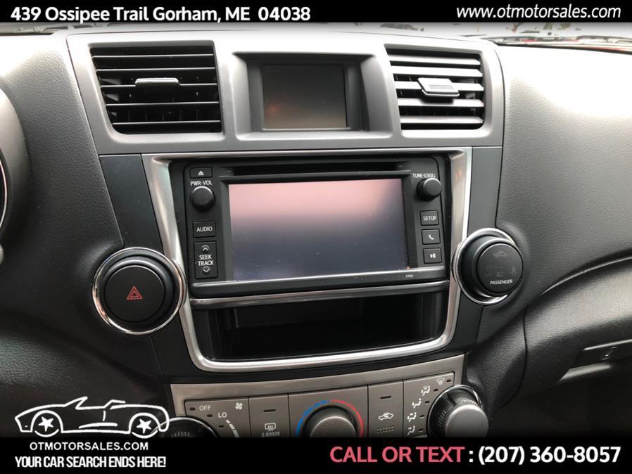 Used Toyota Highlander SE 2013 | Ossipee Trail Motor Sales. Gorham, Maine