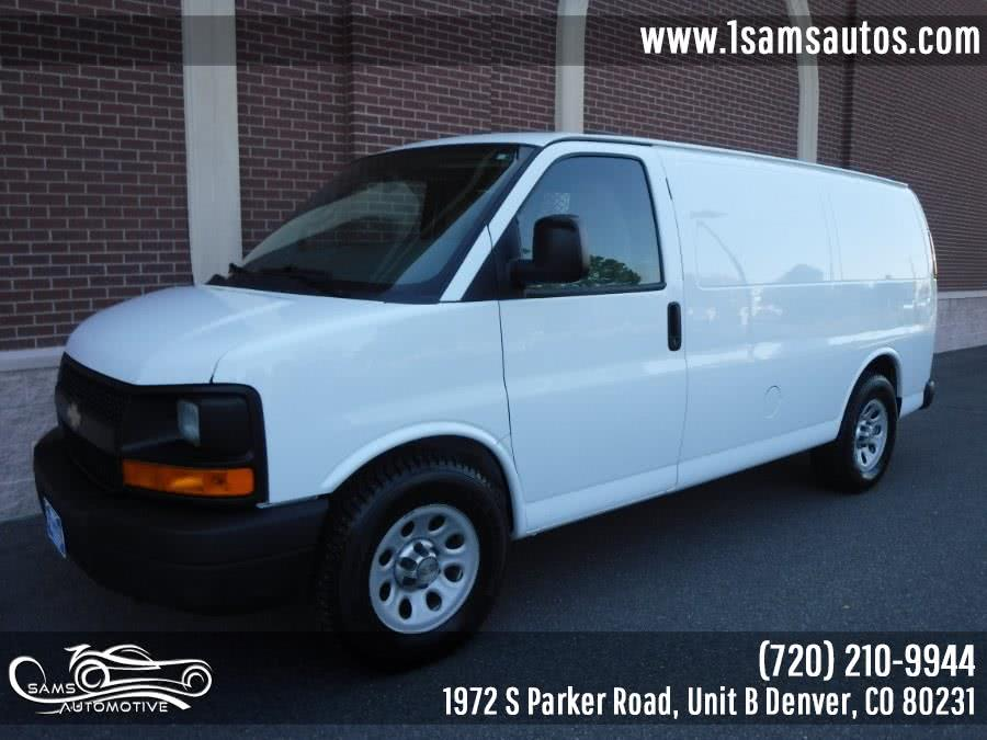 Used 2014 Chevrolet Express Cargo Van in Denver, Colorado | Sam's Automotive. Denver, Colorado