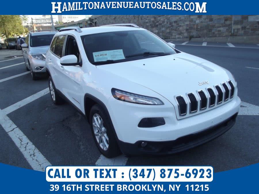 Used Jeep Cherokee LATITUDE 2015 | Hamilton Avenue Auto Sales DBA Nyautoauction.com. Brooklyn, New York