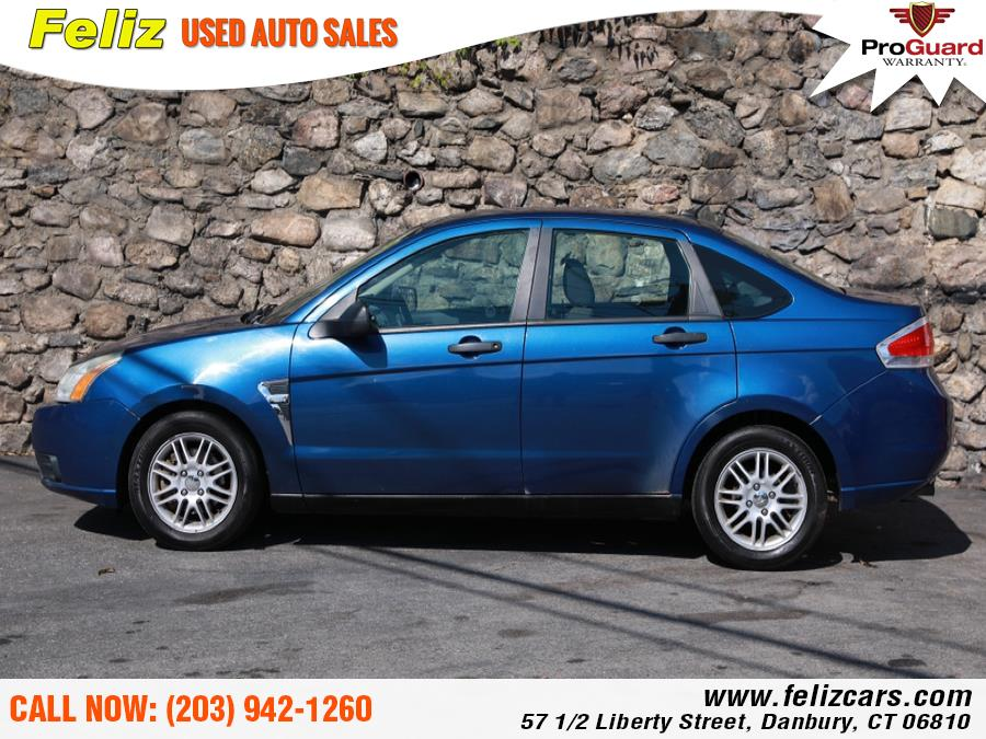 Used 2008 Ford Focus 4dr Sdn SES